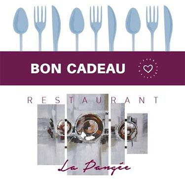 Bon cadeau-Drome-Restaurant La Pangée