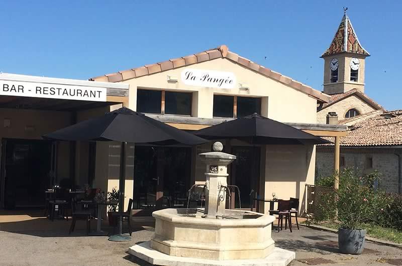 Bar Restaurant-la Baume Cornillane- LA PANGEE
