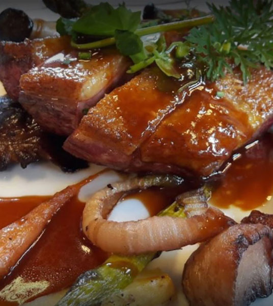 une carte de saison-Restaurant La Pangée