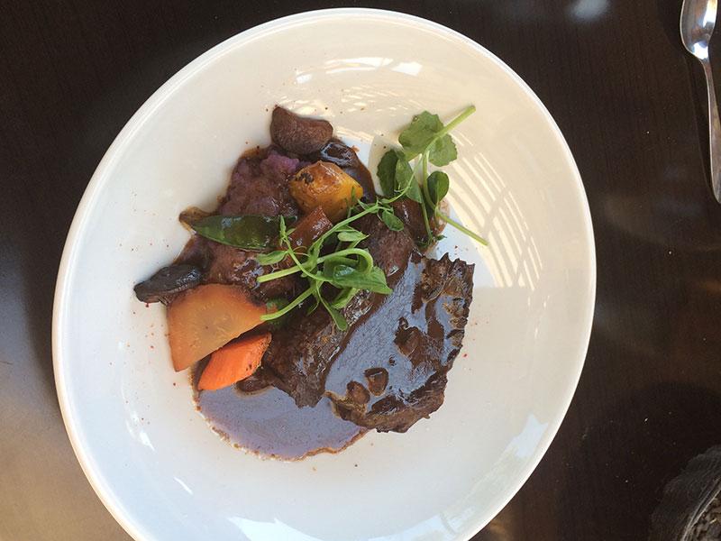Plat du jour- viande du moment-Restaurant La Pangée
